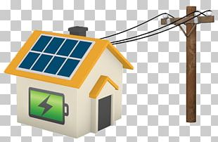 Stand-alone Power System Off-the-grid Grid Energy Storage Solar Power Electrical Grid PNG