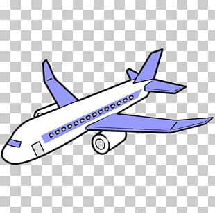 Airplane Narrow-body Aircraft Silhouette PNG