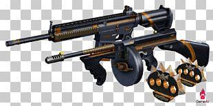 Gun Barrel Weapon Thompson Submachine Gun Carbon PNG