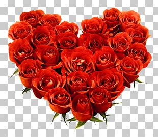 Rose Flower Bouquet Valentines Day PNG