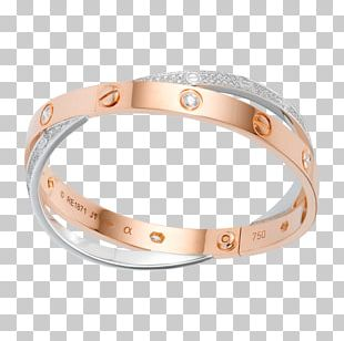 Love Bracelet Cartier Jewellery Gold PNG