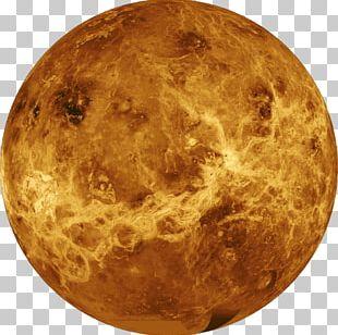 Earth Venus Planet Solar System Atmosphere PNG