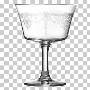 Wine Glass Fizz Martini Cocktail Alcoholic Drink PNG