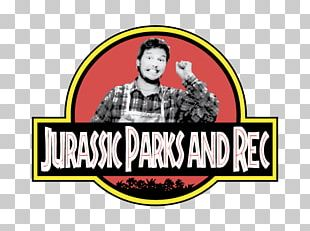 Andy Dwyer Jurassic Park Logo Pun T-shirt PNG