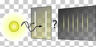 Light Double-slit Experiment Quantum Mechanics Physics PNG