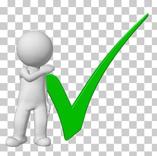 Check Mark 3D Computer Graphics Male PNG