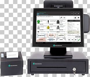 Point Of Sale POS Solutions Retail System Cash Register PNG