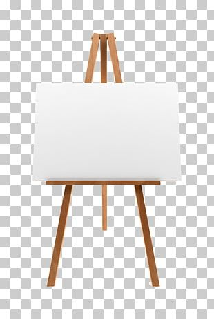 Easel Stock Photography Canvas Painting PNG