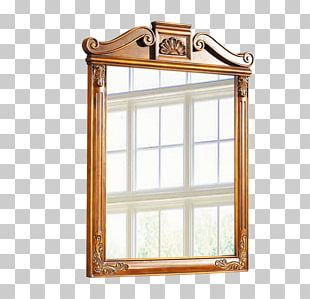 Mirror Table Furniture Glass PNG