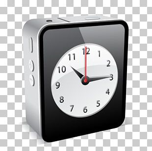 IPhone 4 ICO Clock Icon PNG