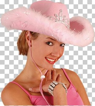 Cowboy Hat Costume Woman PNG
