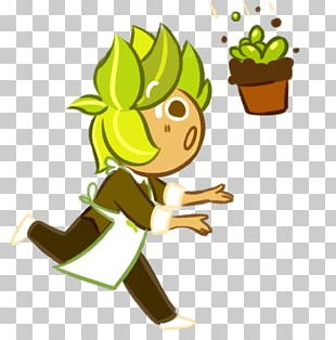 Cookie Run Herb Biscuits Peppermint Leaf PNG