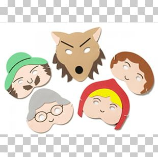 Little Red Riding Hood Goldilocks And The Three Bears Big Bad Wolf Mask Child PNG