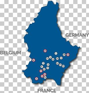 Map Of Germany And Luxembourg.Bettendorf Luxembourg City Topographic Map Germany Png Clipart