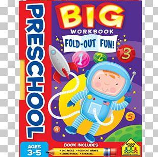 Big Preschool Workbook Pre-school School Zone Learning Game PNG