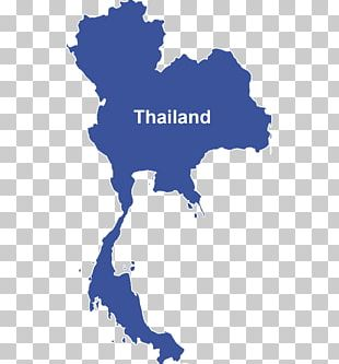 Thailand Map PNG