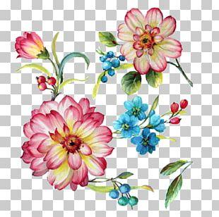 Floral Design Art Painting Flower PNG