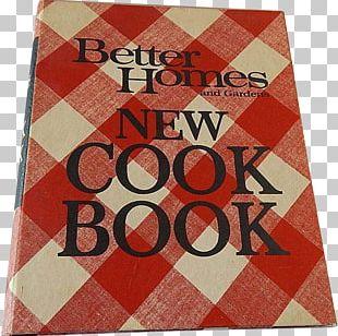 Better Homes And Gardens New Cook Book Betty Crocker Cookbook Holiday Cook Book Casserole Cook Book PNG