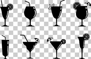 Cocktail Juice Non-alcoholic Mixed Drink Wine Glass PNG