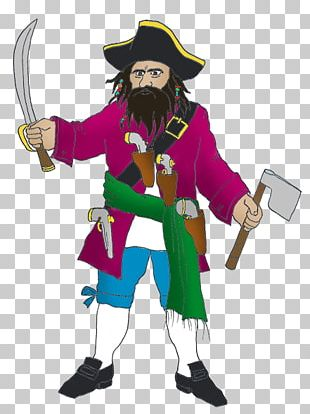 Piracy Computer Icons Beard Cartoon PNG