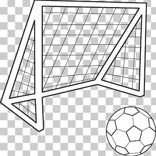 Goal Coloring Book Football Colouring Pages PNG