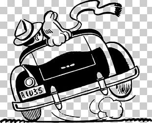 Car Marriage Drawing PNG