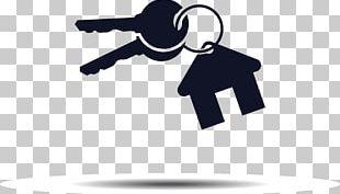 House Key Logo Real Estate PNG