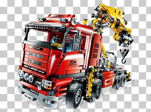 Lego Technic Truck Toy Block PNG