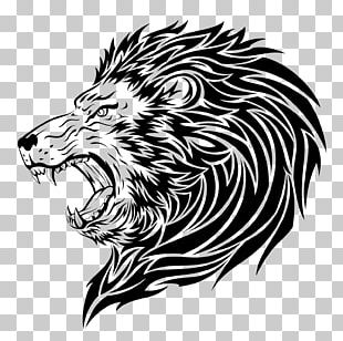 Lion Tattoo Artist Roar PNG
