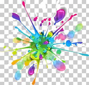 Splash Color Paint PNG