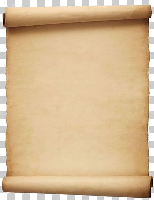 Paper Scroll Parchment Template PNG