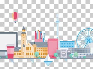 The Architecture Of The City Building Graphic Design Cartoon PNG