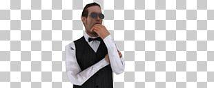 Tuxedo Shoulder Blazer Necktie Sleeve PNG
