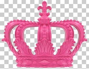 Crown Tiara Pink Prince PNG