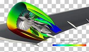 Finite Element Method Jet Engine Simulation Computer-aided Engineering SimScale PNG