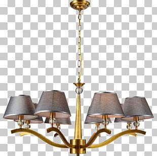 Chandelier Ceiling Lamp Light Fixture PNG