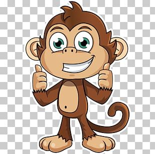 Monkey Sticker Animation Decal PNG
