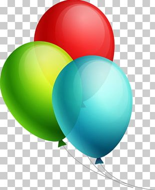 Toy Balloon Birthday Hot Air Balloon Party PNG