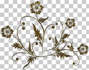 Flower Text Floral Design PNG