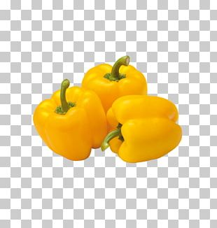 Bell Pepper Vegetable Grocery Store Organic Food Yellow Pepper PNG