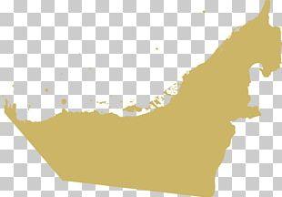 Abu Dhabi Dubai Fujairah Emirates Of The United Arab Emirates Map PNG
