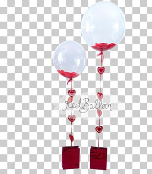 Hot Air Balloon Valentine's Day Gift Balloons Cork By Red Balloon PNG
