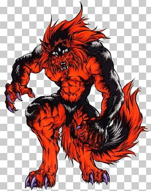 Werewolf Gray Wolf Drawing Monster PNG