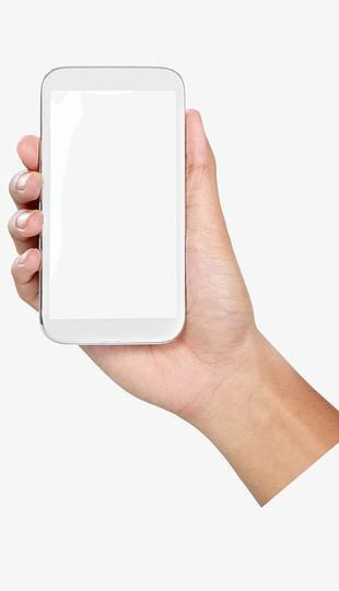 Holding A Cell Phone Gesture PNG
