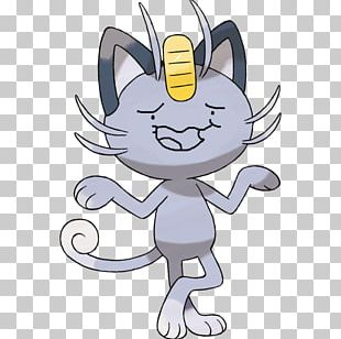 Pokémon Sun And Moon Meowth Alola Persian PNG
