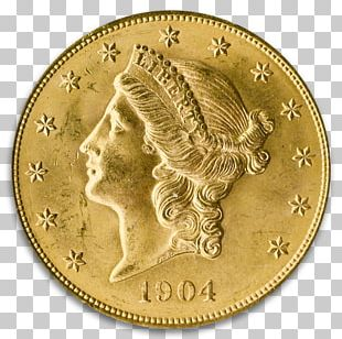 Coin Gold Saint-Gaudens Double Eagle Numismatic Guaranty Corporation PNG