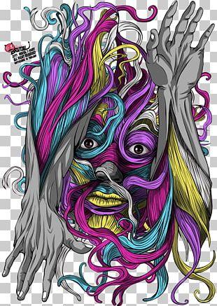 Graphic Design Visual Arts Legendary Creature Pattern PNG