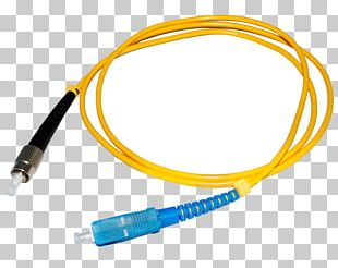 Patch Cable Optical Fiber Cable Optics Optical Fiber Connector PNG