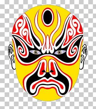 China Mask Peking Opera Chinese Opera Bian Lian PNG