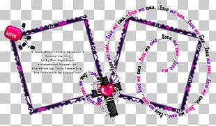 Body Jewellery Line Pink M Font PNG